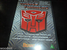 Transformers 25th Anniversario Collector's Edition CD-ROM GIOCO PER PC