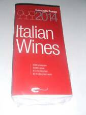 Book: ITALIAN WINES 2014 by Gambero Rosso NEW