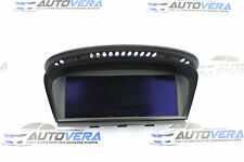 BMW E60 E61 E63 E64 DASHBOARD DISPLAY MONITOR NAV SAT SCREEN 9141809  9193747