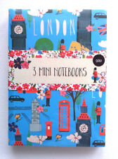 3 ordinateurs portables mini set i love london bus guard ditsy floral big ben spots cadeau