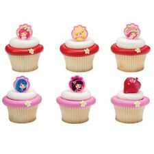Cake Decorating Cupcake Ring Toppers - Strawberry Shortcake & Friends