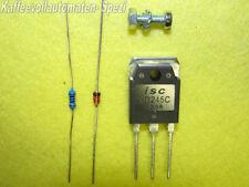 1 x rep. Kit 5 Teile BD 245C ersetzt TIP33C Saeco und Baugleiche Brühgr. Block.