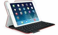 Logitech ultrathin Keyboard Folio m1 Bluetooth Mars Red ipad mini 1, 2 3 Retina