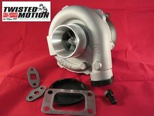 TWISTED MOTION T3 T4 (QUICK SPOOL) UNIVERSAL TURBO SRT-4 NEON UPGRADE USA MADE!!