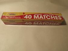 Long Stem Wood Matches_Smoker_ Fire Pit_BBQ_Fire     Matches 40 per pack 11""