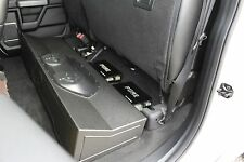 "2017 FORD F250 F350 SUPERDUTY CREWCAB 2-10"" VENTED SPEAKER SUB BOX FOX ACOUSTICS"