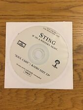Sting The Police Soul Cake Promo Cd Single Radio Edit If On A Winter's Night