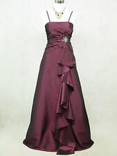 Cherlone Plus Size Purple Ballgown Bridesmaid Formal Wedding/Evening Dress 20-22