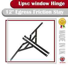 "12"" egress friction stay 13mm stack window hinge fire escape"
