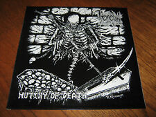 "THRONEUM ""Mutiny of Death"" LP nunslaughter suicidal winds varathron"