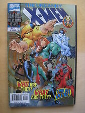 UNCANNY X-MEN 360  by SEAGLE & BACHALO. METALIC FOIL ENHANCED COVER. MARVEL 1998
