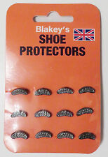 Blakey's Segs Toe & Heel Shoe / Boot Footwear Original Protectors : No. 1