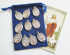 Wholesale Lot 10 New St. Hugh  Medals for Re-sell, Catholic, Christian