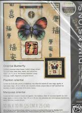 ORIENTAL BUTTERFLY  NEW COUNTED CROSS STITCH KIT