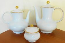 "VINTAGE  COFFEE & TEA POT&SUGAR BOWL--SELTMANN WEIDEN K.""ANNABELL"" -GERMANY"