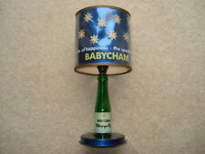 RARE C1960S VINTAGE BABYCHAM THE SPARKLE OF HAPPINESS ADVERTISING LAMP