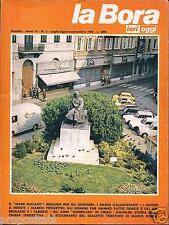lbr 4/5 TRIESTE - LA BORA Ieri Oggi - Anno IV - n.5 luglio agosto settembre 1980