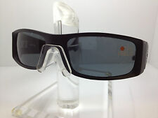 AUTHENTIC SPY SUNGLASSES HIELO RUBBER BLACK/HAPPY GREY GREEN LENS