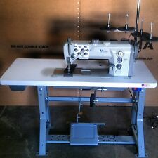 Durkopp 867 Double Needle Walking Foot Industrial Sewing Machine