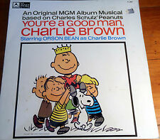SNOOPY You're a good man Charlie Brown LP 1966 MGM