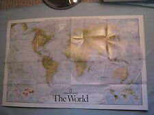 THE WORLD MAP+ GREAT MIGRATIONS National Geographic November 2010 MINT