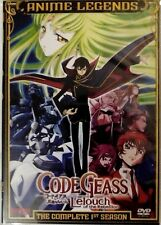 Code Geass Lelouch of the Rebellion: Complete Season 1 (DVD) Ships FIRST CLASS!
