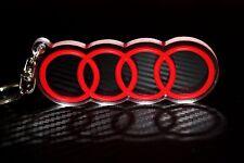 Audi Ringe Schlüsselanhänger Schlüsselanhänger Anhänger a3 a4 a5 V6 TDI 2.5