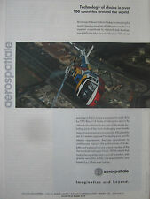 10/1989 PUB AEROSPATIALE HELICOPTERE ECUREUIL HELICOPTER HUBSCHRAUBER AD