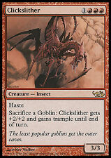 Clickslither EX/NM Dual Decks Elves vs Goblins MTG Magic Card Red Rare