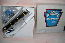 1995 Dana Parish 90th Anniversary Winross Diecast Flat Bed Truck With Rail Load