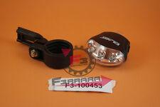 F3-1100453 FANALE ANTERIORE + BATTERIA  3 LED PIATTO BLAST BICICLETTA CITY BICI