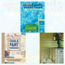 Annie Sloan 3 Books Collection Set NEW Creating the French Look,Chalk Paint Work