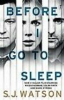 Before I Go to Sleep by S. J. Watson (Paperback, 2014), Like new, free shipping
