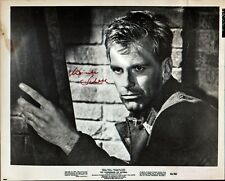 Vintage MAXIMILIAN SCHELL Signed Photo - The Condemned of Altona
