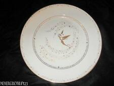 "DISNEY GALLERY COLLECTIBLE TINKERBELL 11"" DINNER PLATE~IVORY/GOLD~NWT"