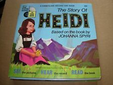 "WALT DISNEY heidi ( children ) - 7"" / 45 - booklet -"