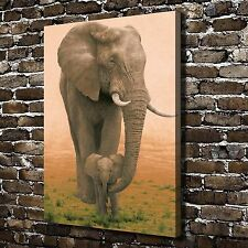 Animal Elephant Paintings HD Print on Canvas Home Decor Wall Art Pictures Poster