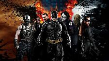 "BATMAN - BANE JOKER The Dark Knight Movies Wall Large Canvas Picture 20""x30"""