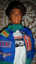 BARBIE DOLL BOYFRIEND KEN JEWELL SECRETS 1986 VINTAGE ROOTED HAIR BENETTON SPORT