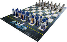 Dr Who Animated Lenticular Chess Set - Riversong Amy Rory Dalek Cybermen Tardis