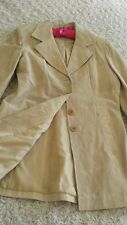 SUPER TRENDY!! LEATHER COAT/JACKET SIZE M ~ DYNAMITE ~LIGHT WEIGHT, FULLY LINED!
