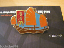 "PIN'S /PINS / BADGES     RESTAURANT "" MC DONALDS HONG KONG ""  ARTHUS BERTRAND"