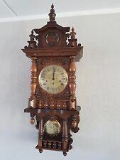 0056-German  triple chime - Westminster,St. Michael, Whittington wall clock