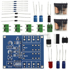 Dual Relay Speaker Loudspeaker Protection Board DIY kits UPC1237 for 500W AMP