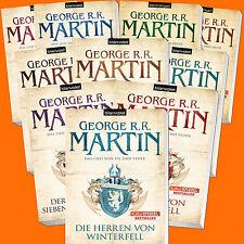 George R.R. Martin | DAS LIED VON EIS UND FEUER 1-10 | GAME OF THRONES (Buch)