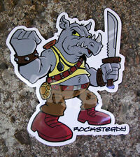 Rocksteady TMNT Vinyl Decal Ninja Turtles Skateboard Car Sticker Graffiti Art