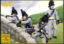 HaT Miniatures 1/72 NAPOLEONIC BRUNSWICK AVANTGARDE Figure Set