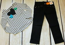 NWT 6 plus Gymboree Fancy Dalmation heart embroidered striped top & jeans set