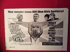 m12s ephemera 1969 film advert till death us do part johnny speight garnett