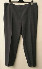 M&S LADIES BLUE MIX TROUSERS SIZE 22S W42 L26 M/C WASH SPIN DRY BNWOT (REF 7618)